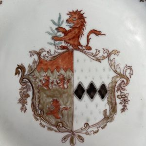 18th Century Chinese Armorial Plate
