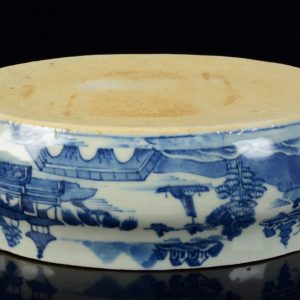 Big Chinese Export Porcelain Canton Tureen with cover