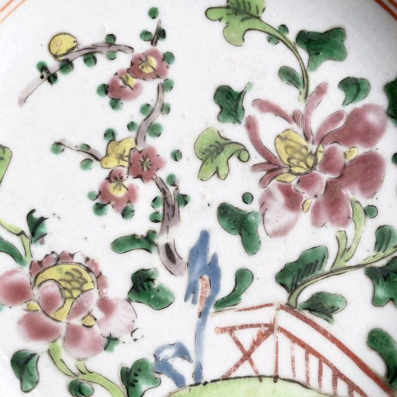 19th.c Chinese Famille Rose Vase