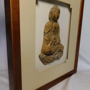 Ming gilt wooded Buddha