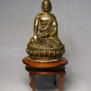 Tibetan gilt copper alloy Buddha